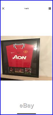 Must See Framed 5 signed Manchester united Football Shirts