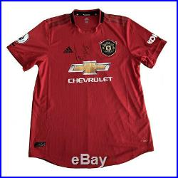Nemanja Mati Manchester United match worn shirt signed