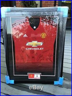 Official Manchester United Signed Shirt, Rare Ole Signed, Relisted Timewaster