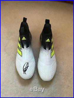 Rare Paul Pogba Match Worn Signed Manchester United Football Boots Not Shirt