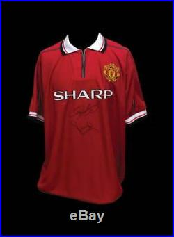 Ryan Giggs & Paul Scholes Signed Manchester United 1999 Shirt With Coa & Proof