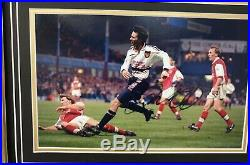 Ryan Giggs of Manchester United Signed Photo with Shirt Jersey THAT 1999 GOAL