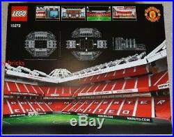 SIGNED! LEGO 10272 Manchester United Old Trafford Stadium + 5006171 Trinity set