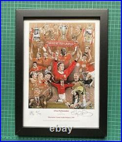 Signed Manchester United Stephen Doig Prints