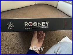 Wayne Rooney Manchester United Limited Edition Box Set Signed Shirt