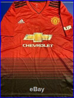Wayne Rooney Signed Jersey PSA/DNA COA Manchester United Adult L